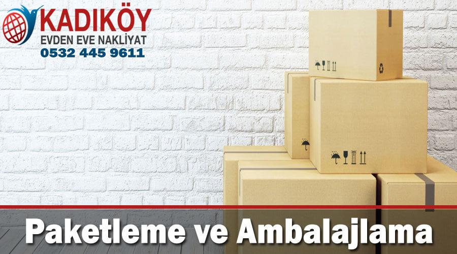 paketleme ve ambalajlama İstanbul kadıköy evden eve nakliyat ambalajlama paketleme hizmeti