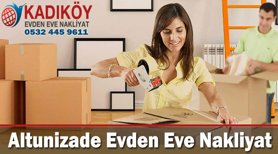 Altunizade Evden Eve Nakliyat İstanbul altunizade nakliyat taşıma firması